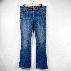 ANTHROPOLOGIE Pilcro Mid-Rise Bootcut Jeans Sz 31